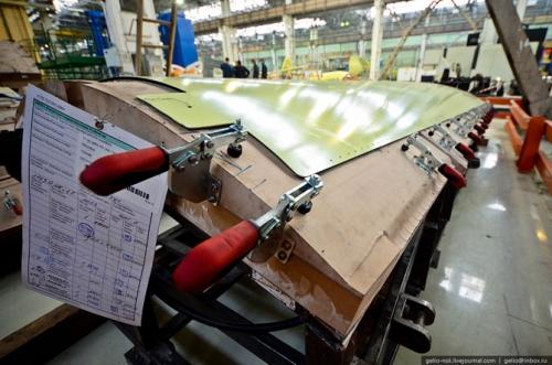 Производство Sukhoi Superjet 100