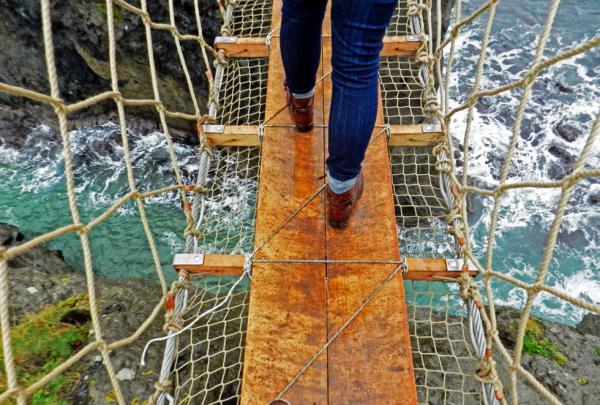 Канатный мост Каррик-а-Рид: давний путь ирландских рыбаков