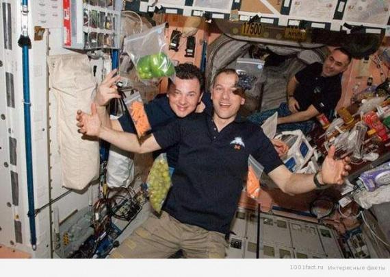 Интересные факты о космической еде
