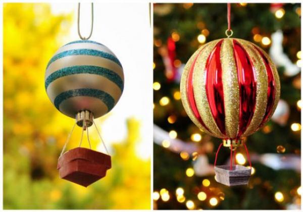 Как сделать шары к новому году