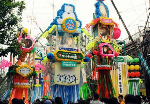 Фестиваль звезд Танабата в Японии