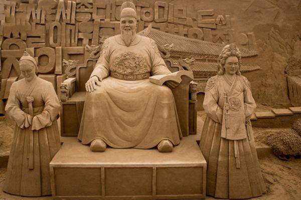 В Японии стартует грандиозная выставка скульптур из песка