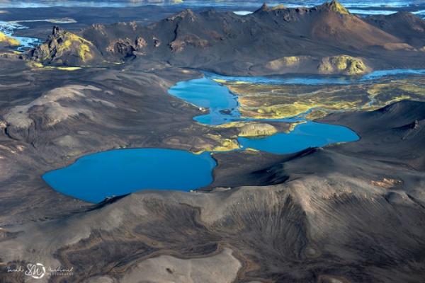 Завораживающие снимки Исландии с воздуха