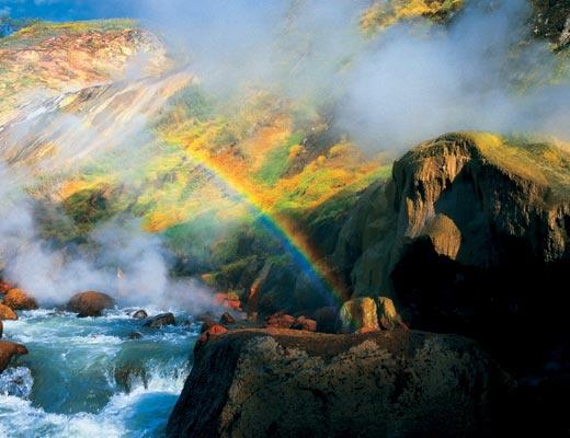 Шесть известных гейзерных полей мира