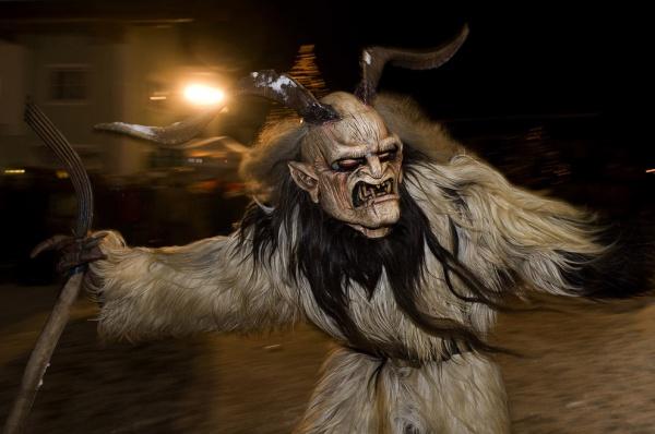 Дьявол (Крампус) в альпийском регионе