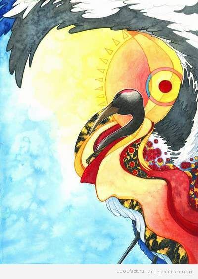 Интересные факты о японском журавле