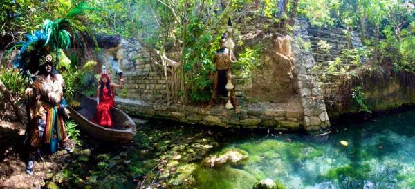 Эко-парк Шкарет, Мексика
