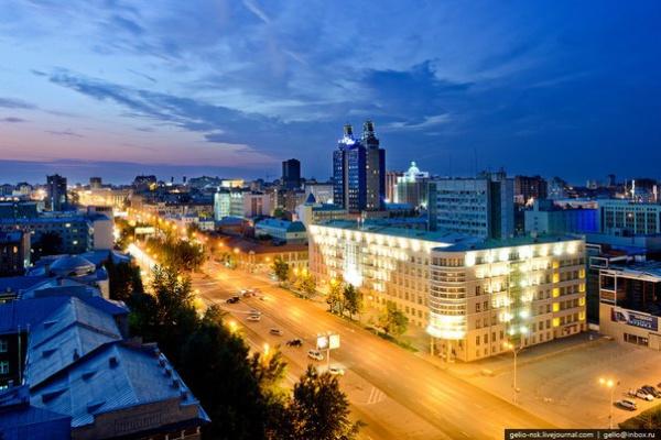 Новосибирск с высоты.