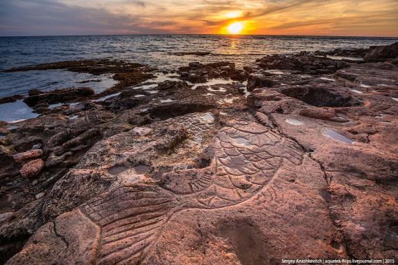 Знаменитые крымские каменные рисунки