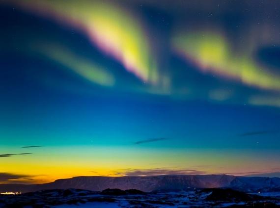 Северное сияние — небесный огонь