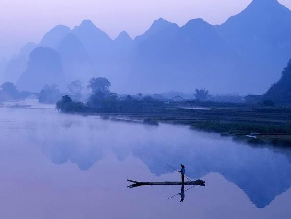 Живописная река Ли в Китае
