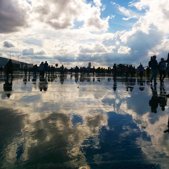 Сесть в лужу: мир удивительных отражений
