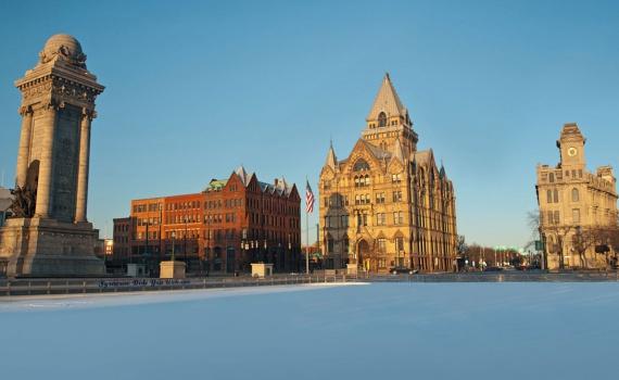 Самые снежные города мира