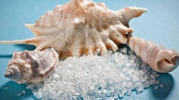 Использование морской соли для лечения волос